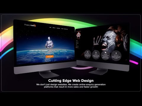 Ice Cube Web Design