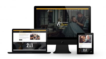 Albufeira Barber - By Ice Cube Web Design