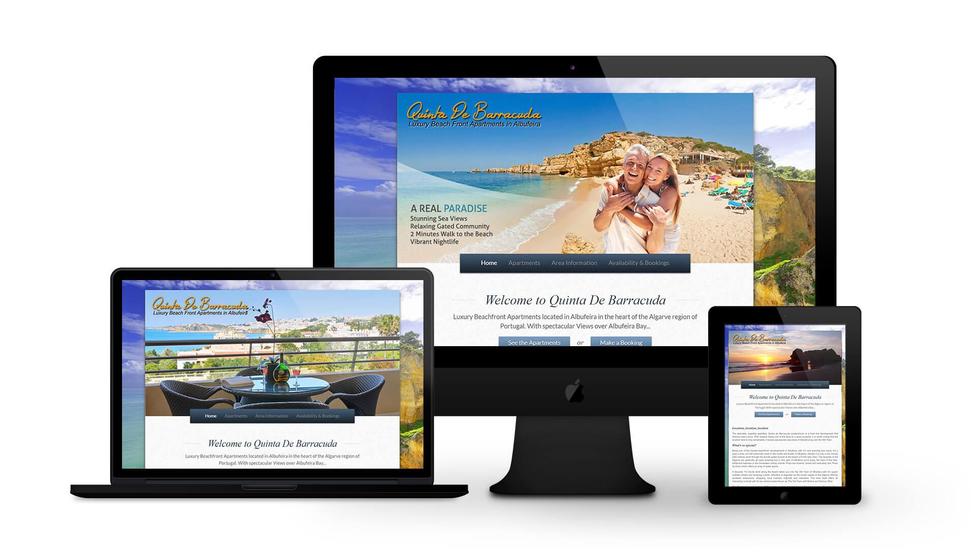 Algarve Beach Apartments - By Ice Cube Web Design