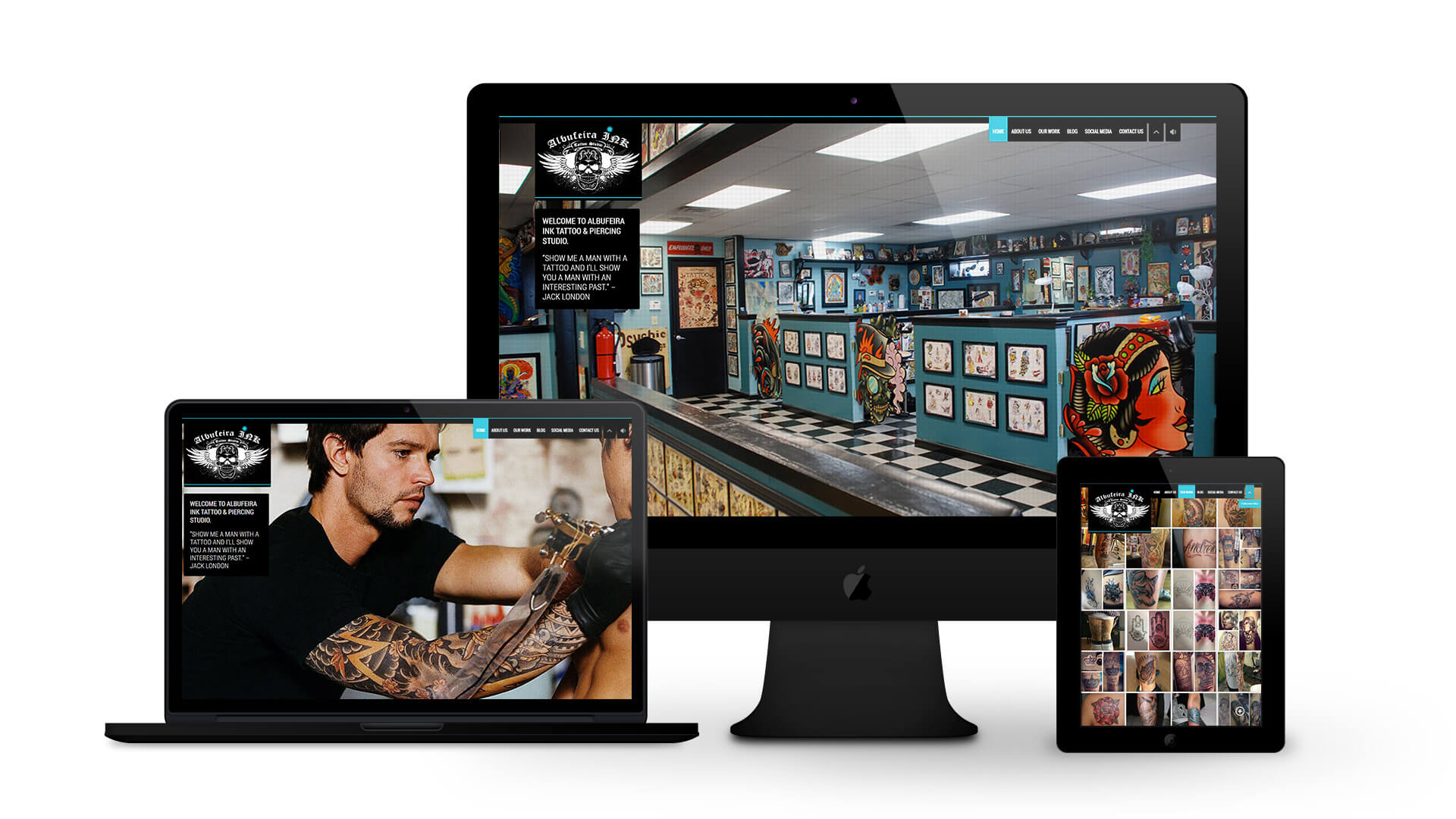 Albufeira INK - By Ice Cube Web Design