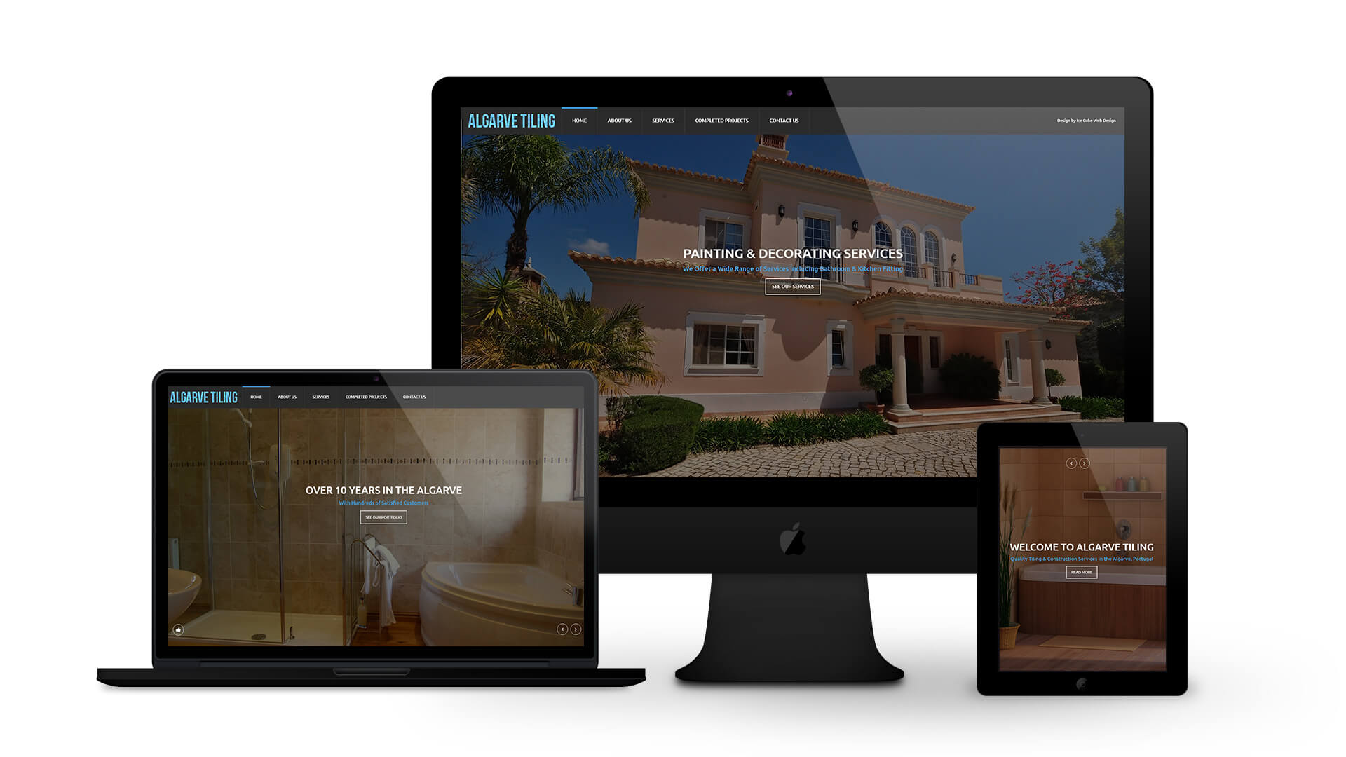 Albufeira Tiling - By Ice Cube Web Design