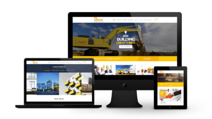 Brent Construction - By Ice Cube Web Design