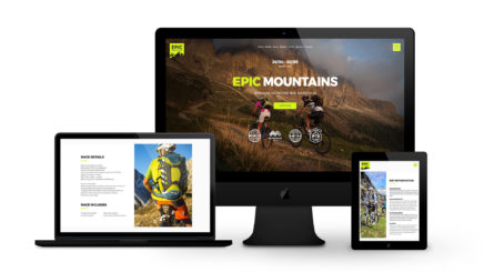 Epic Mountains - By Ice Cube Web Design