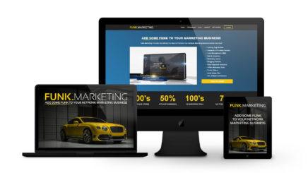 Funk Marketing - By Ice Cube Web Design