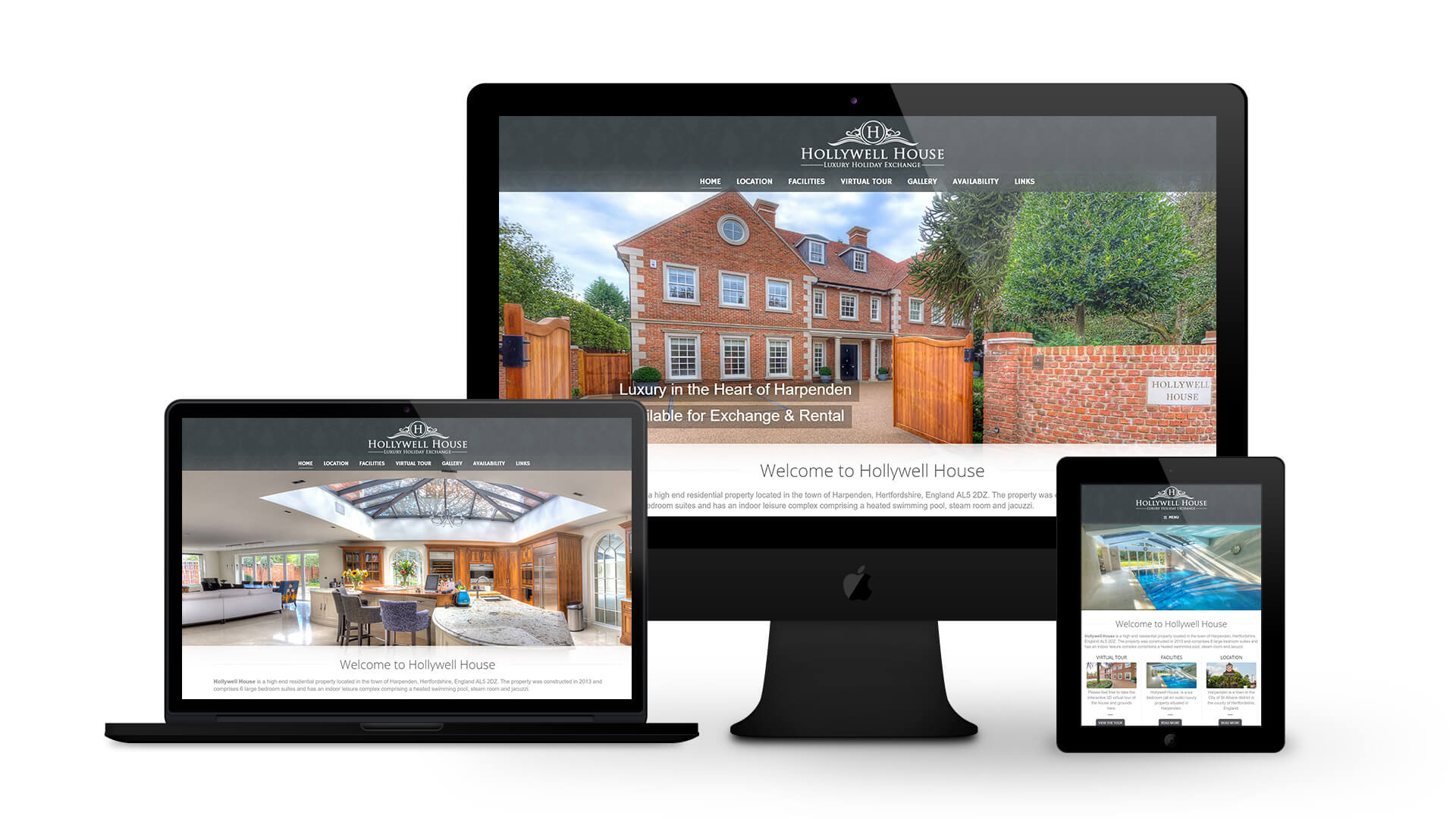 Hollywell House - By Ice Cube Web Design
