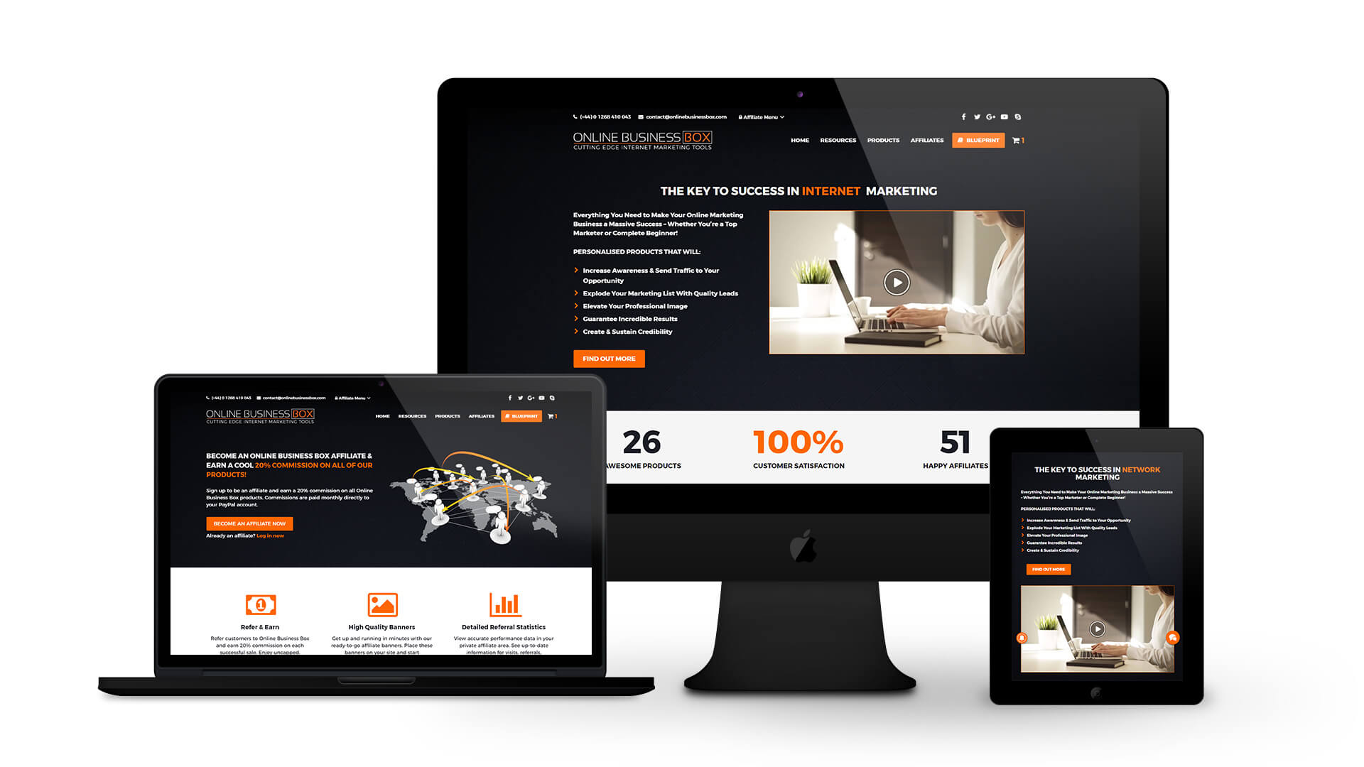 Online Business Box - By Ice Cube Web Design