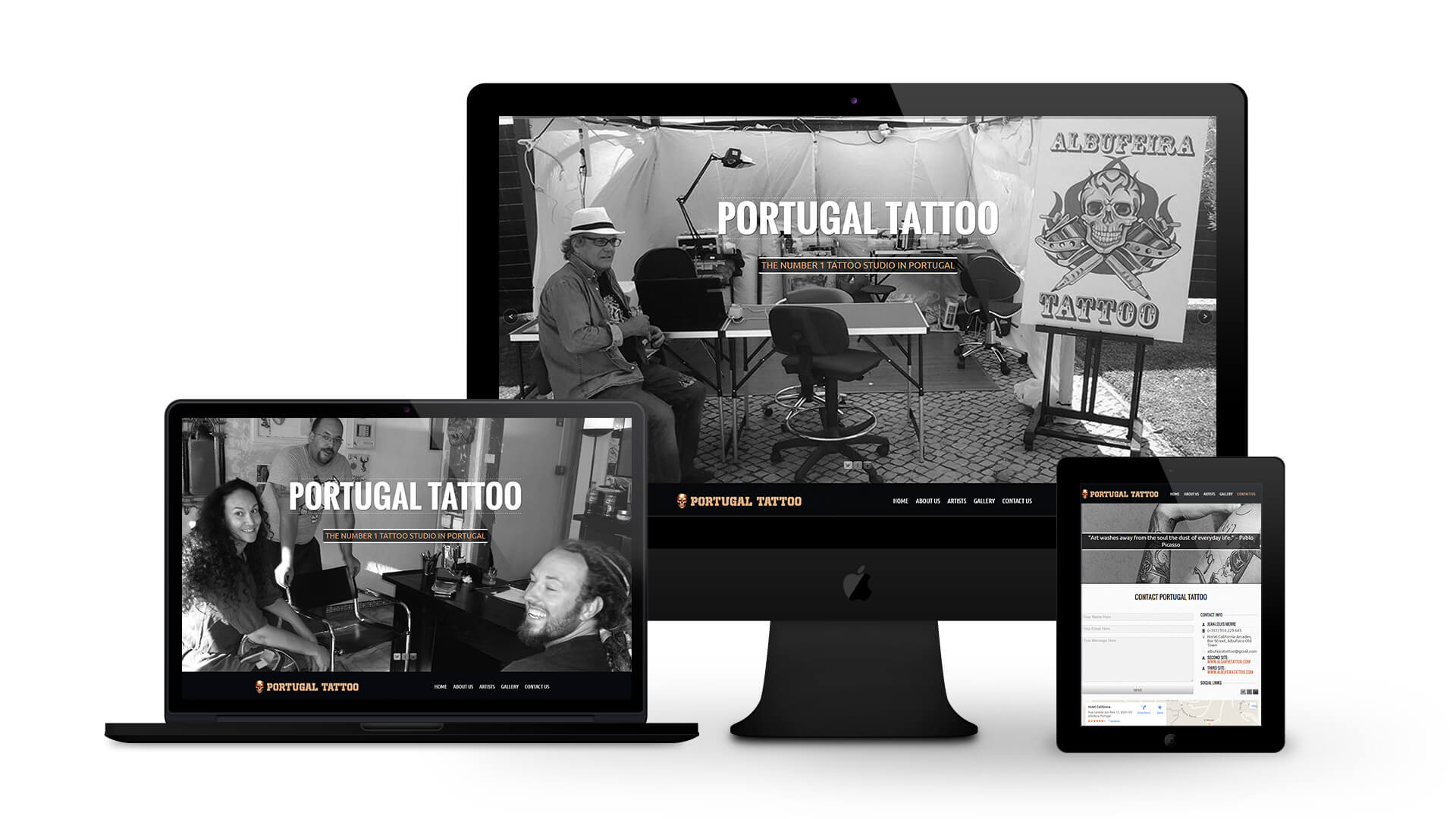Portugal Tattoo - By Ice Cube Web Design